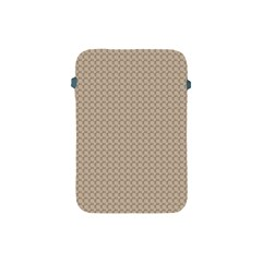 Pattern Ornament Brown Background Apple Ipad Mini Protective Soft Cases by Simbadda