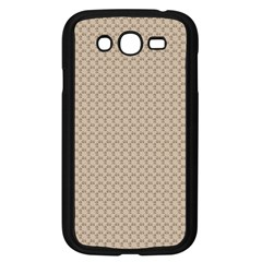 Pattern Ornament Brown Background Samsung Galaxy Grand Duos I9082 Case (black)