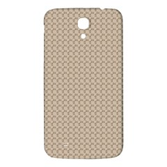 Pattern Ornament Brown Background Samsung Galaxy Mega I9200 Hardshell Back Case