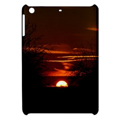 Sunset Sun Fireball Setting Sun Apple Ipad Mini Hardshell Case by Simbadda