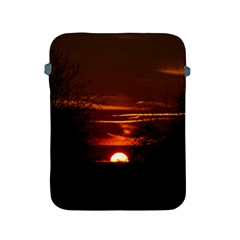 Sunset Sun Fireball Setting Sun Apple Ipad 2/3/4 Protective Soft Cases by Simbadda