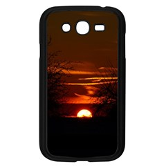 Sunset Sun Fireball Setting Sun Samsung Galaxy Grand Duos I9082 Case (black) by Simbadda
