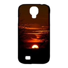 Sunset Sun Fireball Setting Sun Samsung Galaxy S4 Classic Hardshell Case (pc+silicone) by Simbadda