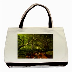 Red Deer Deer Roe Deer Antler Basic Tote Bag by Simbadda