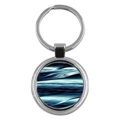 Texture Fractal Frax Hd Mathematics Key Chains (round)  by Simbadda