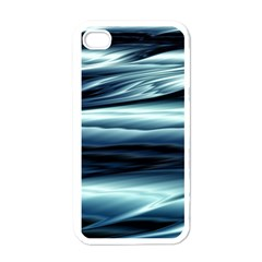 Texture Fractal Frax Hd Mathematics Apple Iphone 4 Case (white) by Simbadda