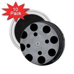 Turntable Record System Tones 2 25  Magnets (10 Pack)  by Simbadda