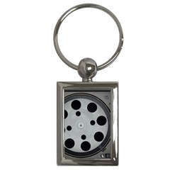 Turntable Record System Tones Key Chains (rectangle)  by Simbadda