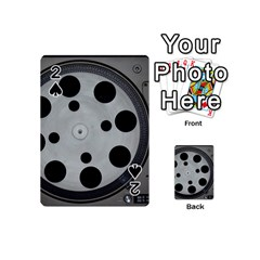 Turntable Record System Tones Playing Cards 54 (mini)  by Simbadda