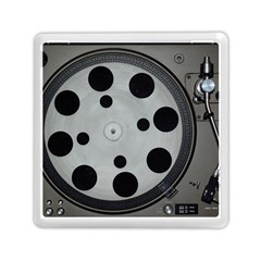 Turntable Record System Tones Memory Card Reader (square)
