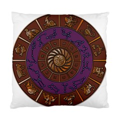 Zodiak Zodiac Sign Metallizer Art Standard Cushion Case (two Sides) by Simbadda