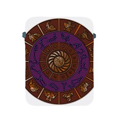 Zodiak Zodiac Sign Metallizer Art Apple Ipad 2/3/4 Protective Soft Cases