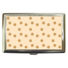 Pattern Gingerbread Star Cigarette Money Cases by Simbadda