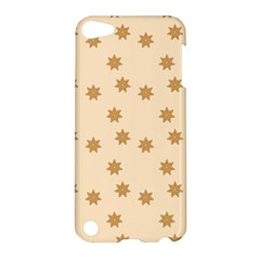 Pattern Gingerbread Star Apple Ipod Touch 5 Hardshell Case by Simbadda