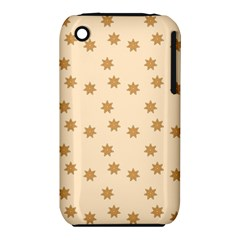 Pattern Gingerbread Star Iphone 3s/3gs by Simbadda