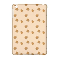 Pattern Gingerbread Star Apple Ipad Mini Hardshell Case (compatible With Smart Cover) by Simbadda
