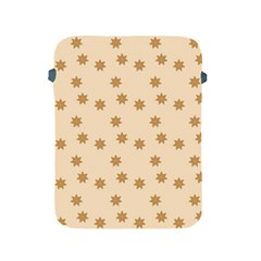 Pattern Gingerbread Star Apple Ipad 2/3/4 Protective Soft Cases by Simbadda