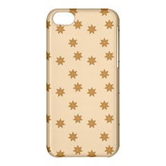 Pattern Gingerbread Star Apple Iphone 5c Hardshell Case