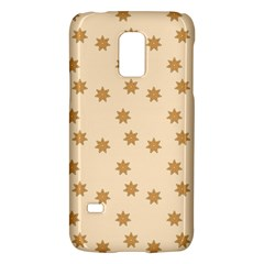 Pattern Gingerbread Star Galaxy S5 Mini by Simbadda