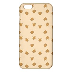 Pattern Gingerbread Star Iphone 6 Plus/6s Plus Tpu Case by Simbadda
