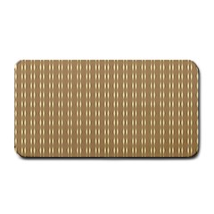 Pattern Background Brown Lines Medium Bar Mats by Simbadda