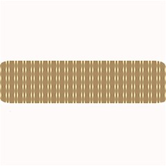 Pattern Background Brown Lines Large Bar Mats by Simbadda