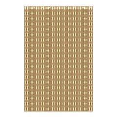 Pattern Background Brown Lines Shower Curtain 48  X 72  (small)