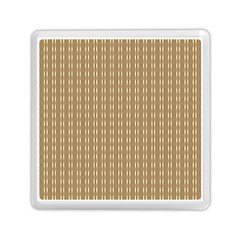 Pattern Background Brown Lines Memory Card Reader (square)  by Simbadda