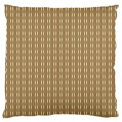 Pattern Background Brown Lines Large Cushion Case (two Sides)