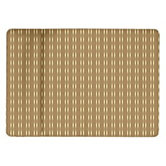 Pattern Background Brown Lines Samsung Galaxy Tab 10 1  P7500 Flip Case by Simbadda