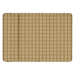 Pattern Background Brown Lines Samsung Galaxy Tab 8 9  P7300 Flip Case by Simbadda