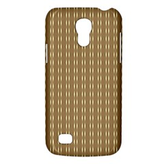 Pattern Background Brown Lines Galaxy S4 Mini by Simbadda