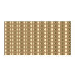Pattern Background Brown Lines Satin Wrap by Simbadda