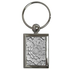 Pattern Motif Decor Key Chains (rectangle)  by Simbadda