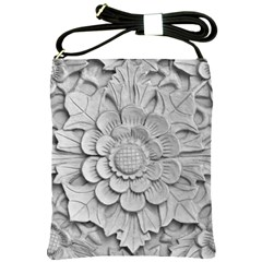 Pattern Motif Decor Shoulder Sling Bags by Simbadda