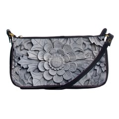 Pattern Motif Decor Shoulder Clutch Bags by Simbadda