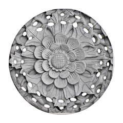 Pattern Motif Decor Ornament (round Filigree)