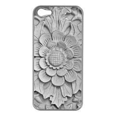 Pattern Motif Decor Apple Iphone 5 Case (silver) by Simbadda