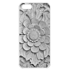 Pattern Motif Decor Apple Iphone 5 Seamless Case (white) by Simbadda