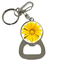 Transparent Flower Summer Yellow Button Necklaces by Simbadda