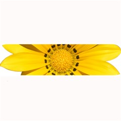 Transparent Flower Summer Yellow Large Bar Mats by Simbadda