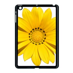 Transparent Flower Summer Yellow Apple Ipad Mini Case (black)