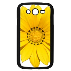 Transparent Flower Summer Yellow Samsung Galaxy Grand Duos I9082 Case (black) by Simbadda
