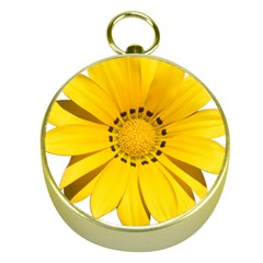 Transparent Flower Summer Yellow Gold Compasses by Simbadda