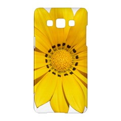 Transparent Flower Summer Yellow Samsung Galaxy A5 Hardshell Case  by Simbadda
