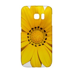 Transparent Flower Summer Yellow Galaxy S6 Edge by Simbadda