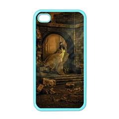 Woman Lost Model Alone Apple Iphone 4 Case (color) by Simbadda