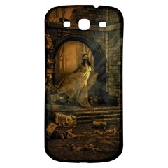 Woman Lost Model Alone Samsung Galaxy S3 S Iii Classic Hardshell Back Case by Simbadda