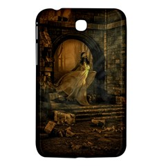 Woman Lost Model Alone Samsung Galaxy Tab 3 (7 ) P3200 Hardshell Case  by Simbadda