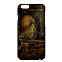 Woman Lost Model Alone Apple Iphone 6 Plus/6s Plus Hardshell Case by Simbadda